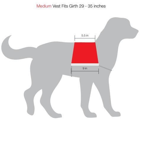 Service Dog Cape Style Vest With Pockets Service Dogs Dog Vest