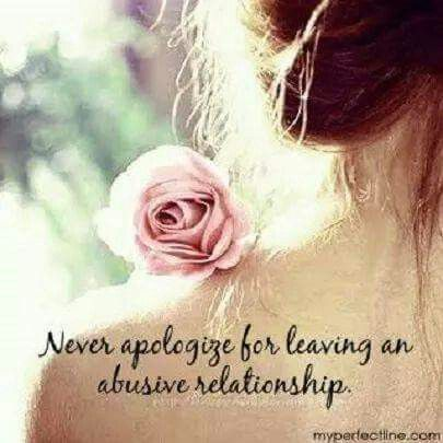 Abusive marriage... toxic. God gave me strength -D