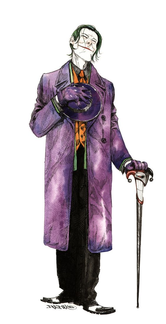 Many great artists have drawn the Joker of the years, but this stands out as one of my favorites. Dustin Nguyen knocked this out of the park.