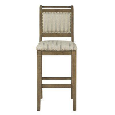 Gracie Oaks Rakowski Bar Counter Stool Seat Height Counter