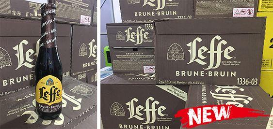 Bia Leffe Nâu 6,5% - Chai 330 ml - Bia Nhập Khẩu
