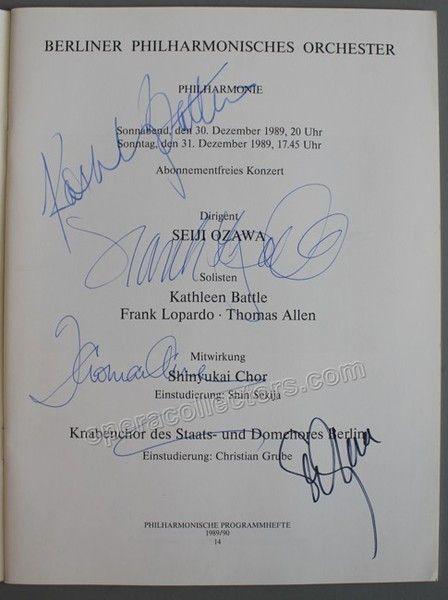 OZAWA, Seichi - BATTLE, Kathleen - ALLEN, Thomas - LOPARDO, Frank