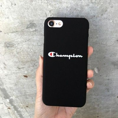 Luxury Champion Brand Matte Hard Couples Case for iPhone 6 6S 7 8 ...
