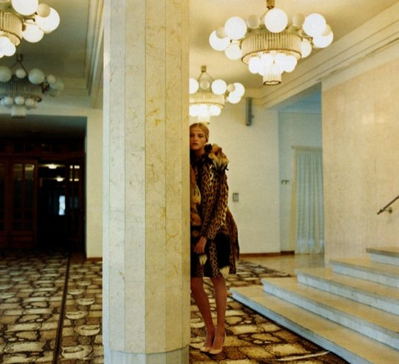 Vlada Roslyakova shot by Yelena Yemchuk for Vogue Russia, November 2008