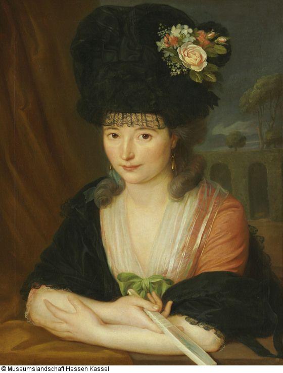 Fräulein Häddrich Künstler: Wilhelm Böttner (1752 - 1805) Datierung: um…: