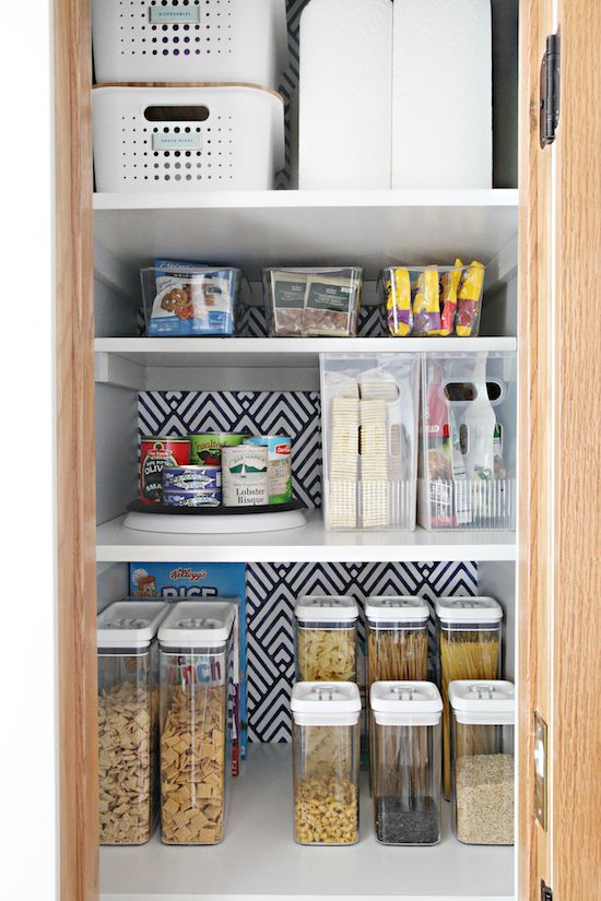 My Favorite Tips For Organizing A Deep Pantry Deep Pantry Deep Pantry Organization Narrow Pantry