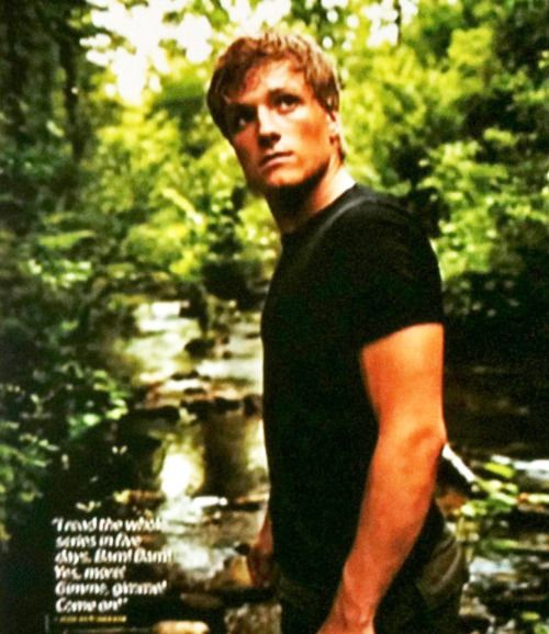 love himm(: can't wait for hunger games!