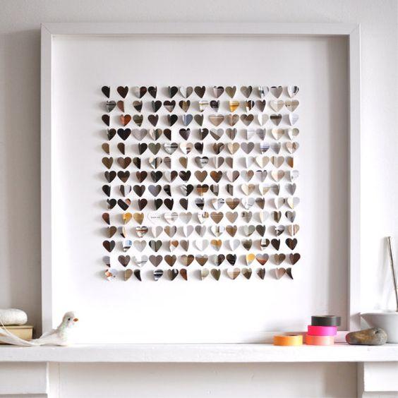 Personalized Little Stone Hearts  Large size by sarahandbendrix, $190.00