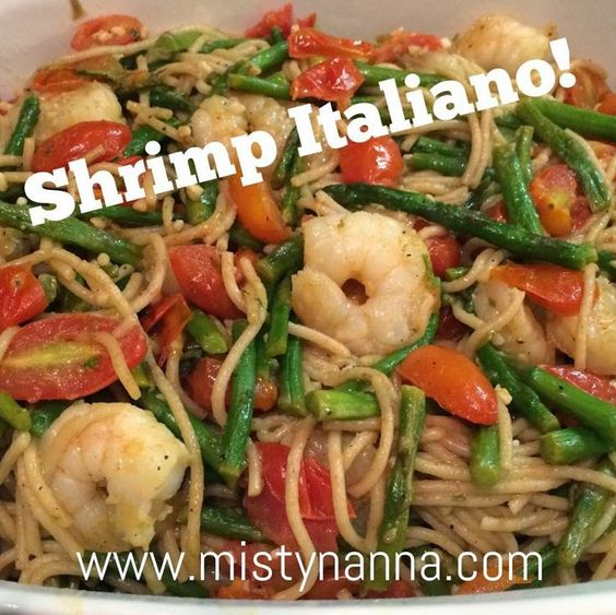 Fit for Life: Shrimp Italiano!...21 Day FIxed Approved!!  OMG....this recipe will make your house smell AMAZING!!! Oh how I love garlic!! My dad would be proud! The flavor is unbelievable!! It tastes like it came straight from an Italian restaurant! Mangia, mangia!!! http://www.mistynanna.com