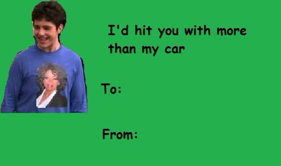 Valentines Day Card Drake And Josh | Valentine Day Cards | Pinterest | Humor