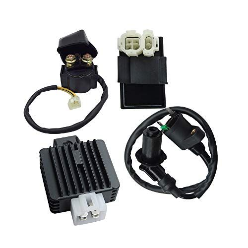 Starter Relay Solenoid 2 wires 125cc 150cc GY6 ATV Go Kart Scooter Moped TaoTao