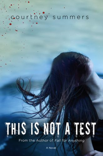 Andrea at Sir Wilfrid Laurier CI recommends This is Not a Test by Courtney Summers:  Zombie Book = Amazing.  A group of teenagers trying to survive a zombie apocalypse, and they are faced with many difficult obstacles.  Trying to survive gets a lot harder.  The lines between reality and fantasy get blurred.  Amazing read, far from disappointing.