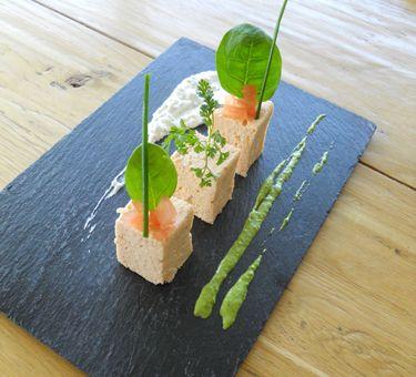 Id e recette de la cave beetschen entr e gastronomique for Idee d entree rapide