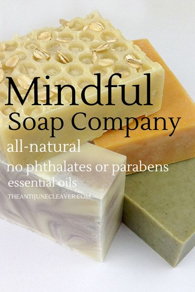 Mindful Soap Co review #essentialoils #allnatural