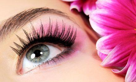 Beyond Beauty Eyelashes, creates glamourous yet natural looking eyelash extensions