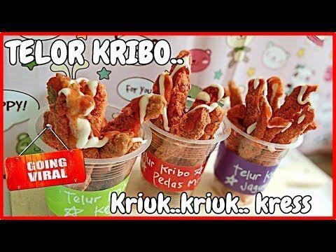 Laris Manis Viral Telor Kribo Kresss Kress Gurih Zaman Now