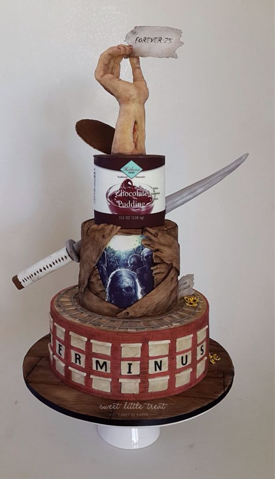 Southern Blue Celebrations Walking Dead Zombie Cakes