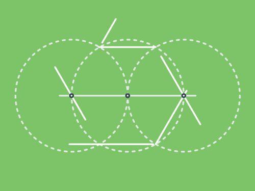 Las construcciones con regla y compás. | Matemolivares