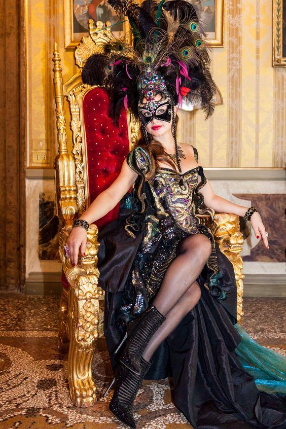 Carnevale a Venezia: gli abiti più belli al Ballo del Doge- CosmopolitanIT