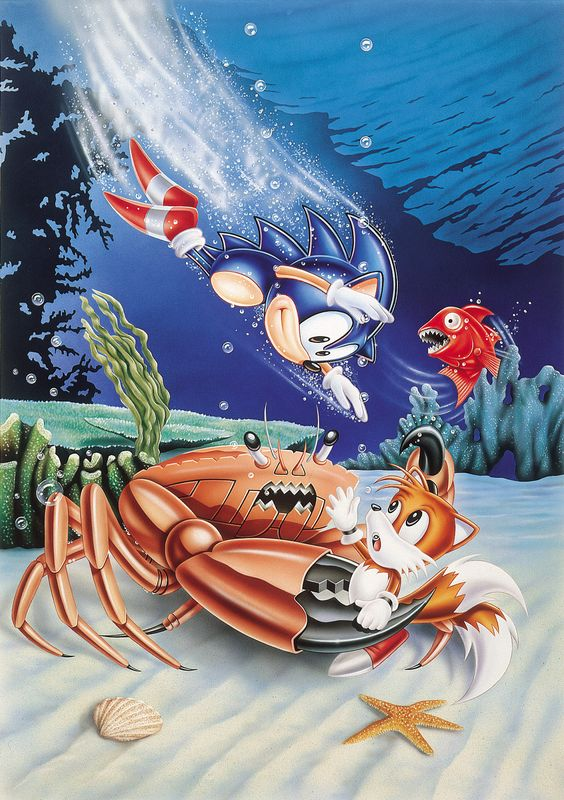 Revealed: Why Sonic can't swim | N4G