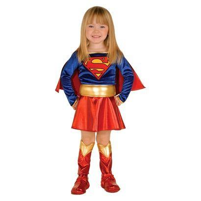 Infant/Toddler Girl's Supergirl Toddler Costume - 2T-4T