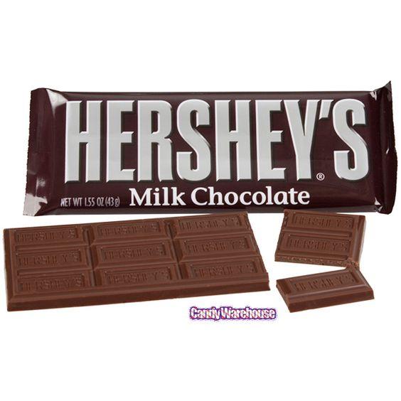 Hershey's Milk Chocolate Candy Bars: 36-Piece Box   Milk ...