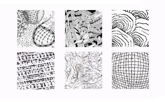 Resultado de imagen para texturas de hojas a lapiz