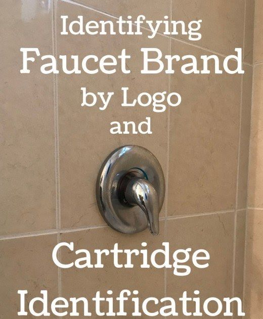 Faucet Cartridge Identification Guide Identifying Your Shower Faucet Brand And Cartridge Cartrdge Dentfy Faucet Ste In 2020 Faucet Shower Faucet Shower Faucet Repair