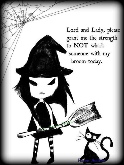 Funny Witch Sayings Hit you with my broom! witches