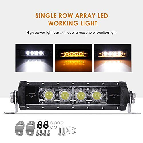 Auxbeam Led Light Bar 12 Led Light Bars Led Lights Bar Lighting