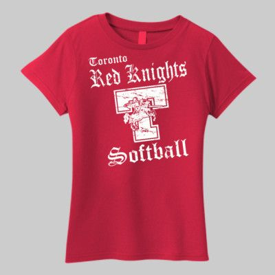 Toronto Softball 001 - Ladies Essential T Shirt