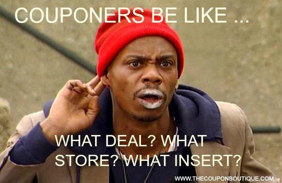 Couponers Be Like Meme Tarot Deals