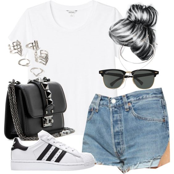 Adidas Superstar Outfit Sommer
