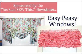 Free! Easy Peasy Window Coverings