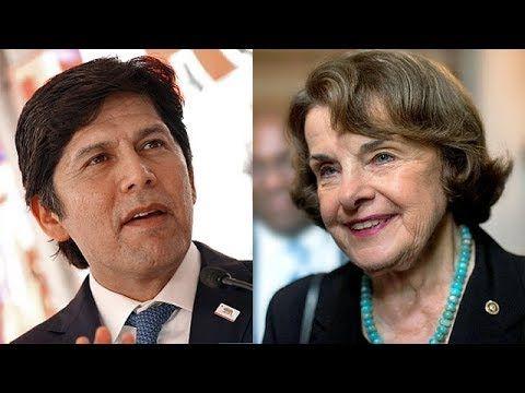 California Democratic Party Snubs Corporatist Dianne Feinstein Dianne Feinstein Democratic Party Democrats