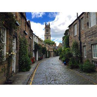 Circus Lane, my favorite Little street in Edinburgh.