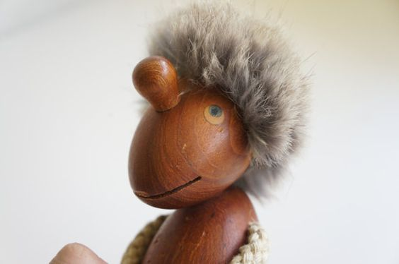 Hans Bolling Optimist Teak Figure  Scandinavian by teakandteal