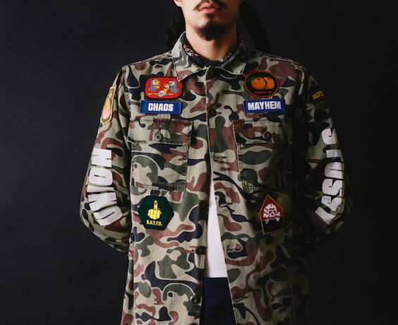 Stussy X Union – colección Allied Forces