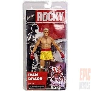 A brand new series of Rocky figures based on Rocky IV includes