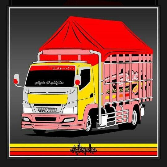Truck Polosan Konsep Mobil Mobil Truk