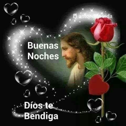 Dios Nos Proteja De Todo Mal Durante La Noche Buenas Noches