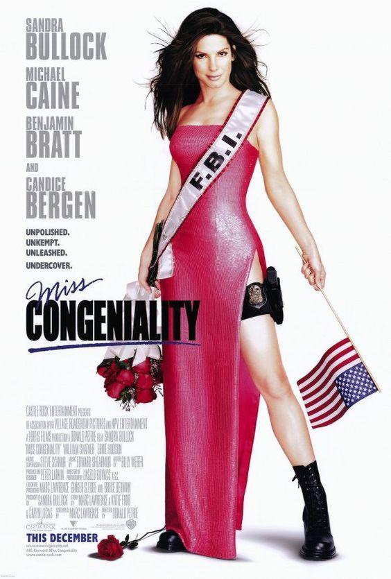 Miss Congeniality 27x40 Movie Poster (2000)