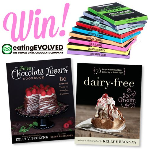 Dairy-Free Ice Cream Giveaway 1: eatingEVOLVED Chocolate