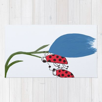 Never Let You Go Area & Throw Rug by One Artsy Momma | Society6