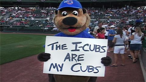 Grab a beer and a meal at Mullets, then walk across the bridge to take in an ICubs baseball game.
