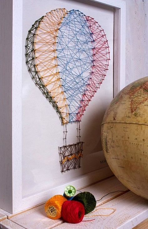 Idea para Decorar - Globo aerostático