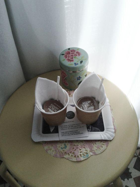 #coffee time in Casa Huéspedes Santa María #hotel