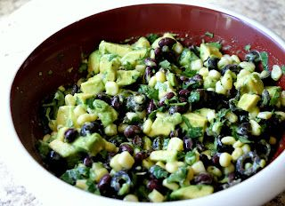Avocado salsa. I seriously ate this whole batch in a day.