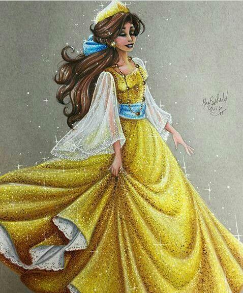 Disney belle: