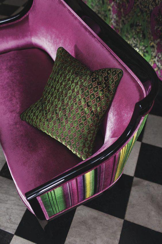 tissu d 39 ameublement en velours elegant living versailles jab anstoetz tende copriletti. Black Bedroom Furniture Sets. Home Design Ideas